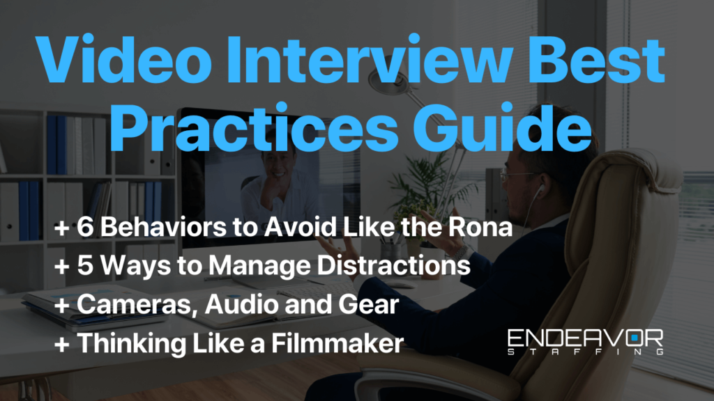 Video Interview best practice guide